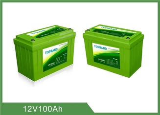 Lithium Iron Phosphate Deep Cycle Battery Pack Lifepo4 Zero Emission For Solar RV